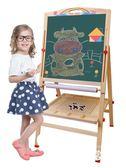 中國夢教學寫字板支架式可升降雙面磁性小黑板家用兒童畫畫板涂鴉