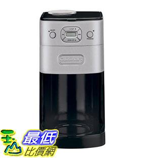 【美國代購】Cuisinart DGB-650BC Grind-and-Brew熱10杯自動咖啡機 拉絲金屬
