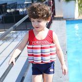 兒童浮力泳衣女孩女童嬰兒泡溫泉游泳衣寶寶幼兒男童連身漂浮泳衣 igo 露露日記
