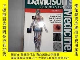 二手書博民逛書店Davidson s罕見Principles and Practice of Medicine'Y198833