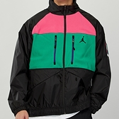 Nike Mountainside Jacket 男款 黑紅綠 立領 刷毛 拼接 運動 外套 CT3380-010