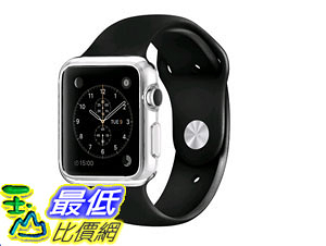 [105美國直購] 蘋果錶帶 Spigen Liquid Crystal Ultra-Thin Premium Semi-transparent Lightweighte Apple Watch 42mm SGP11495