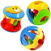 嬰兒玩具0-1歲寶寶手抓球叮當球五彩感官球鈴鐺球洞洞球搖鈴響鈴 快速出貨 全館八折