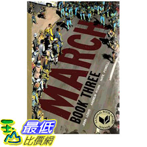 2019 美國得獎書籍 March: Book Three