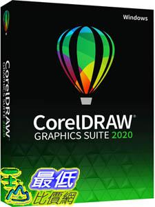 [9美國直購] pc 教育版 CorelDRAW Graphics Suite 2020 Graphic Design Photo and Vector Illustration Software