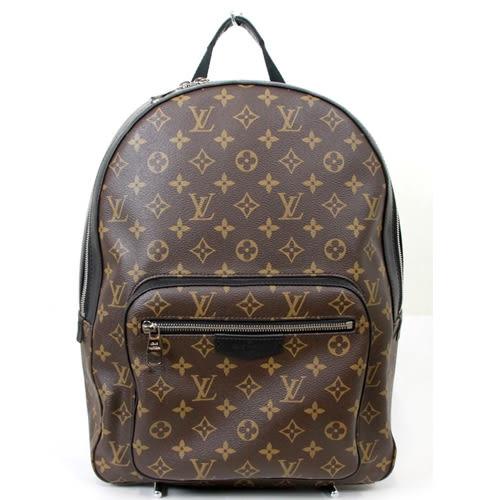 Louis Vuitton LV M41530 JOSH 經典花紋皮革拼接後背包 全新 預購【茱麗葉精品】