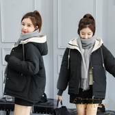 網紅同款羽絨棉服女冬季韓版面包服棉襖寬松加厚棉衣外套【繁星小鎮】