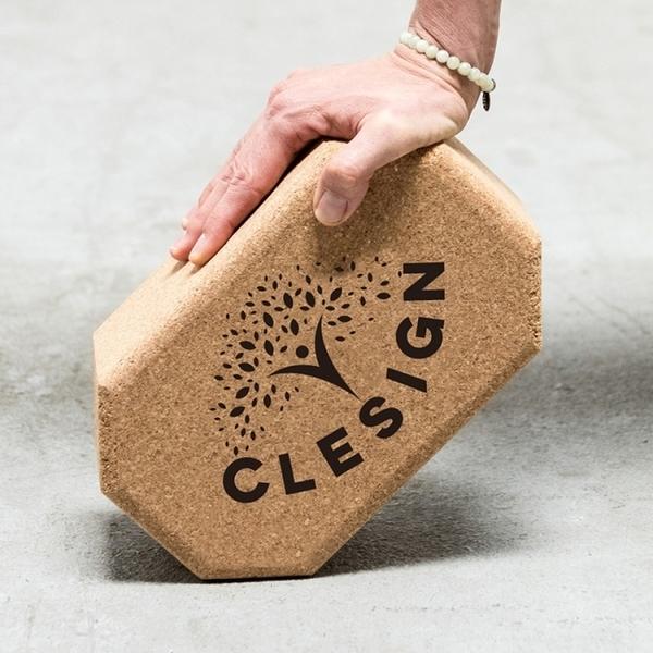 【Clesign】Cork block 無限延伸軟木瑜珈磚