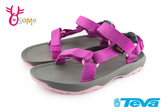 TEVA Hurricance XLT 2 童涼鞋 經典織帶涼鞋 中童 I6911#桃紅◆OSOME奧森鞋業