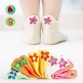 可愛卡通刺繡純色短筒童襪 5入組 童襪 短筒襪 襪子