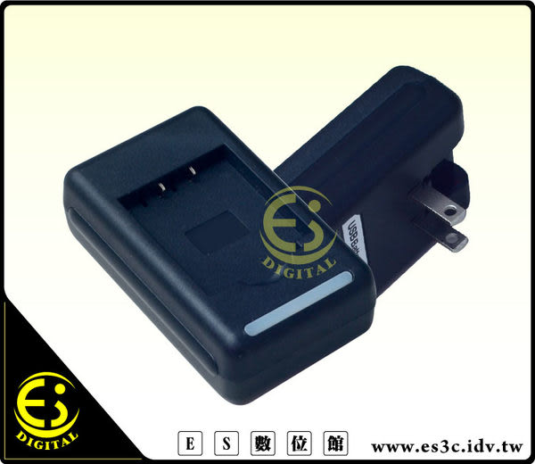 ES數位Pentax Q Q7 Q-S1 Optio A36 Optio A40 Optio S10 Optio S12 電池 D-LI68 專用快速充電器 DLI68