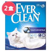【Ever Clean】藍鑽歐規結塊貓砂-9kgX2盒-水晶低敏無香