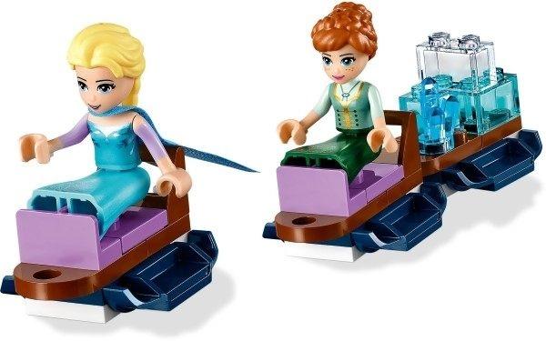 【LEGO樂高】DISNEY 冰雪奇緣 艾莎的魔幻冰樂園 #43172