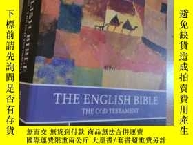 二手書博民逛書店【罕見】The English Bible, King James Version:Old Testament a
