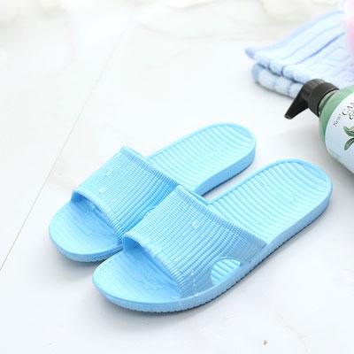 Qmishop 男女拖鞋 情侶居家室內外厚底家居鞋【QJ430】