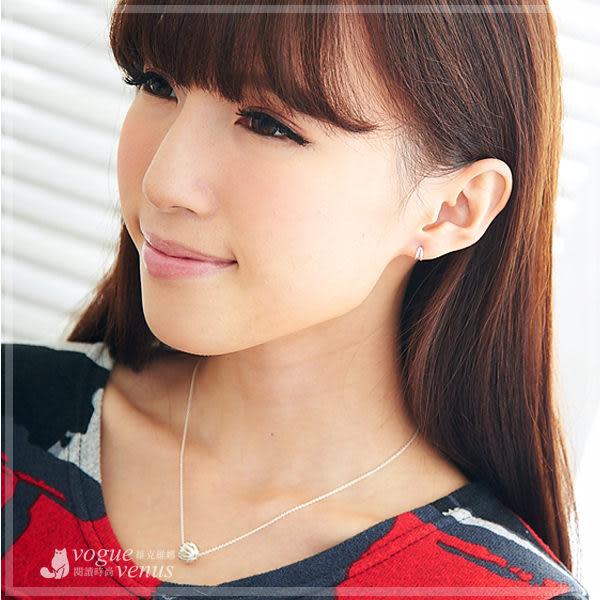極簡品味 個性款簡約半弧造型耳環 925純銀耳環 維克維娜