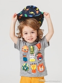 男童短袖T恤夏裝夏季童裝兒童寶寶純棉上衣嬰幼兒小童潮半袖薄款 阿卡娜