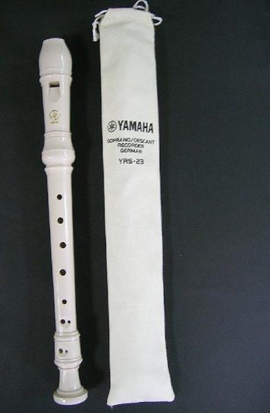 【樂器館】高音直笛 山葉牌 德式 YRS-23(全新產品)