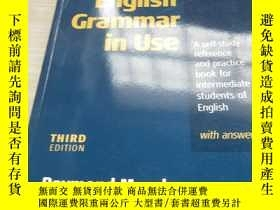 二手書博民逛書店English罕見Grammar In Use with Answers:A Self-study Referen