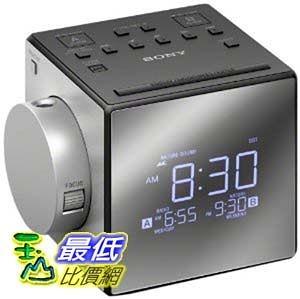 [美國直購] 鬧鐘收音機 SONY ICF-C1PJ 投影式雙鬧鐘電子鬧鐘 Alarm Clock Radio ICFC1PJ _CC0