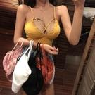 小可愛 2020夏季背心式吊帶抹胸輕薄款無痕內衣女無鋼圈打底文胸防走光潮  店慶降價