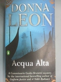 【書寶二手書T2/原文小說_KEH】Acqua Alta_Leon, Donna