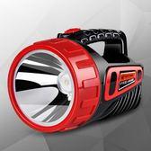 Led強光手電筒可充電探照燈超亮特種兵戶外遠程多功能手提家用     琉璃美衣