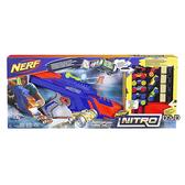 《 NERF 樂活打擊 》NITRO極限射速賽車 - 終極電動豪華發射組 ╭★ JOYBUS玩具百貨