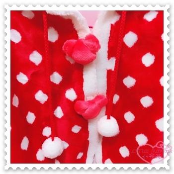 小花花日本精品 Hello Kitty 東京迪士尼樂園限定 米妮 冬季厚款披肩/斗篷 披風 披風32053609