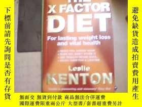 二手書博民逛書店THE罕見X FACTOR DIET For lasting w