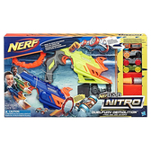 《 NERF 樂活打擊 》NITRO 極限射速賽車 - 特技對抗發射組╭★ JOYBUS玩具百貨