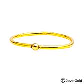 Jove gold 唯一黃金手環-亮面