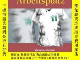 二手書博民逛書店Spielfeld罕見Arbeitsplatz Managementwissen mit Kick: Für Fü