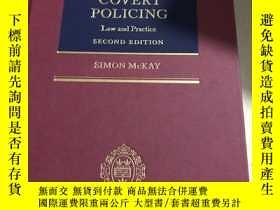 二手書博民逛書店covert罕見policing second editon秘密警察第二版Y25607 出版2000