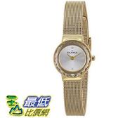 [104美國直購] Skagen 女士手錶 Women s SKW2186 Leonora Stainless Steel Watch with Crystal Markers $3967