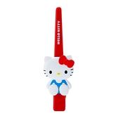 小禮堂 Hello Kitty 造型塑膠長髮夾 鴨嘴夾 瀏海夾 馬尾夾 大髮夾 (紅 玩偶) 4550337-34888