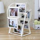 創意DIY手工制作訂製照片風車旋轉相框擺...