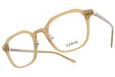 CARIN 光學眼鏡 RUTH C2 (咖啡) 韓星秀智代言 質感個性百搭款 # 金橘眼鏡
