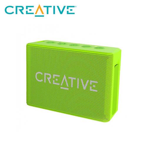 【CREATIVE 創巨】Muvo 1C 防潑水藍芽喇叭 綠