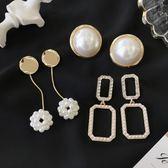 新春新品▶珍珠耳環 簡約耳飾品個性吊墜耳墜長款氣質名媛耳釘女