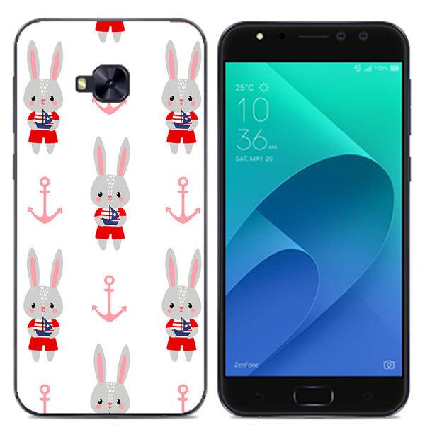 ✿ 3C膜露露 ✿ ZenFone 4 Selfie Pro (ZD552KL) {小紅兔*空壓立體浮雕軟殼} 手機殼 手機套 保護殼