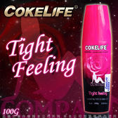 490即可免運 潤滑液 調情情趣用品♥COKELIFE Tight feeling女性情趣提升水性潤滑液100g情趣用品