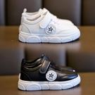 兒童小白鞋2020春季新款童鞋韓版百搭魔術貼女童板鞋男童運動鞋