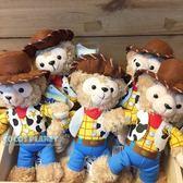 香港迪士尼 熊抱哥達菲 達菲熊 DUFFY 絨毛娃娃吊飾 COCOS TN650