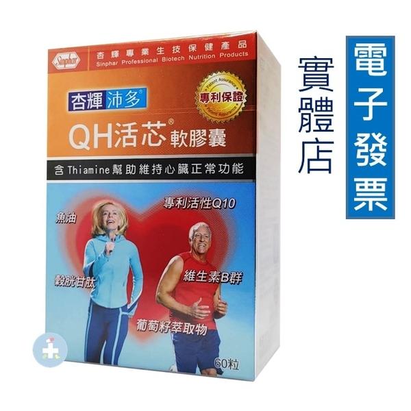 杏輝 沛多 QH活芯軟膠囊 60粒