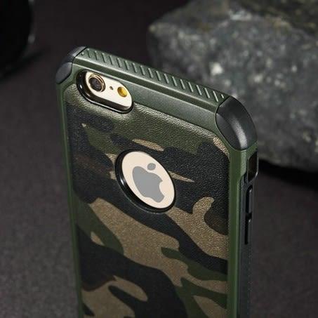 [全館5折-現貨快出] 迷彩 手機殼 iPhone6 6s plus 5s iphone se 迷彩 二合一 保護套 軍風 手機皮套 手機套