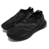 【海外限定】adidas 慢跑鞋 PureBounce Plus M 黑 灰 女鞋 舒適緩震 運動鞋【PUMP306】 G27962