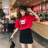 純棉短袖T恤女新款夏季寬鬆韓版學生網紅超火ins潮半袖上衣服 錢夫人