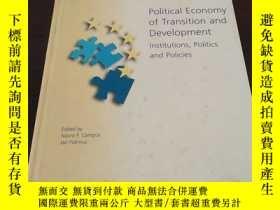 二手書博民逛書店Political罕見Economy of Transition