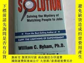 二手書博民逛書店The罕見selection solution Solving the mystery matching peop